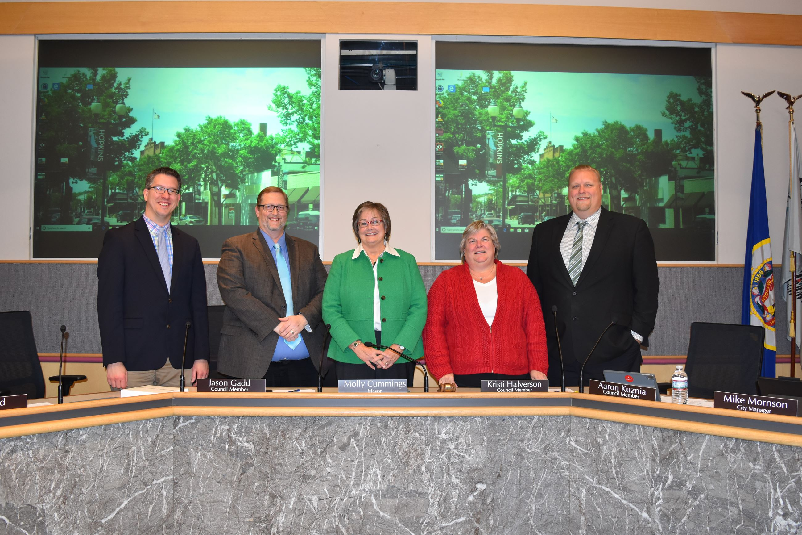 Hopkins City Council Picture