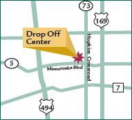 Map of Drop-Off Center