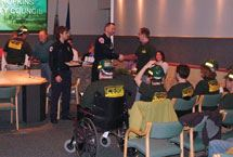 CERT Graduates Receive Certificate at Council Meeting