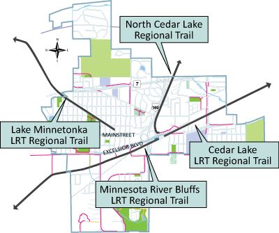 Trail Map with detailed text